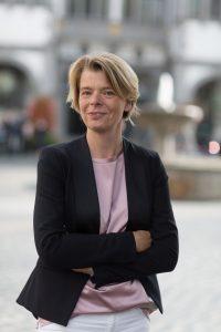 Fraktionsgeschäftsführerin Andrea Mildner